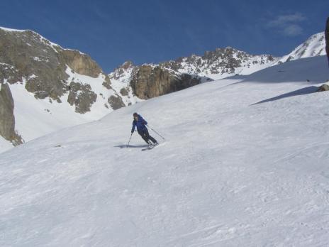 Ski de randonnée au départ de la Grave