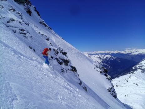 Bec de l'Âne en ski de randonnée - secteur Ruitor