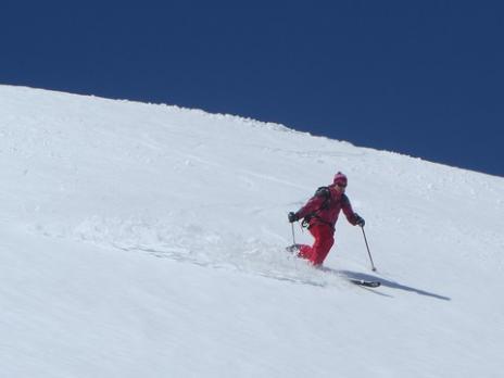 Ski de randonnée en télémark