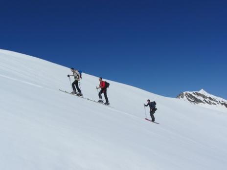 Ski de randonnée en Vanoise  vallon de la Commune
