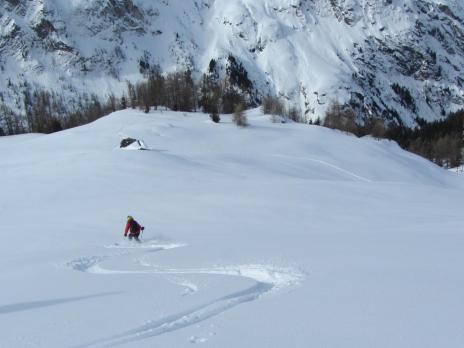 Ski de randonnée en Vanoise - Crête de Doumé