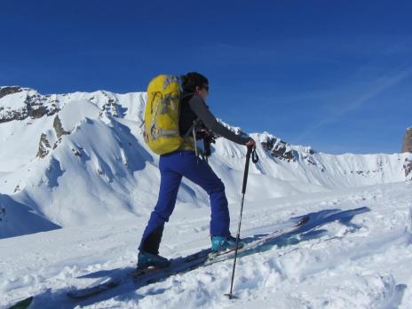 Ski de randonnée dans le Beaofortain - le Mont Rosset