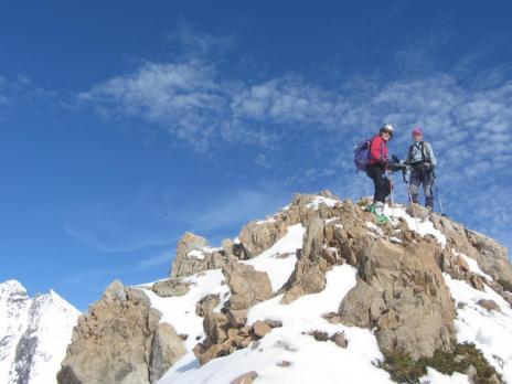 Ski de randonnée dans le massif du Beaufortain - Bureau des guides des Arcs