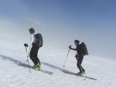 Ski de randonnée en lauzière massif de la Vanoise