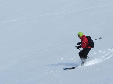 Ski de randonnée dans le Beaufortain - le Mont Rosset