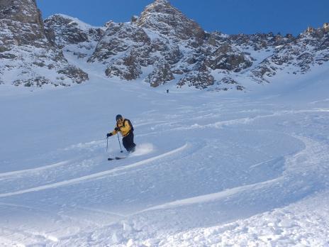 Tignes ski hors piste rando