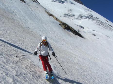 Tignes hors piste - ski de randonnée en juillet