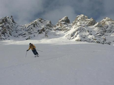 Tignes ski hors piste