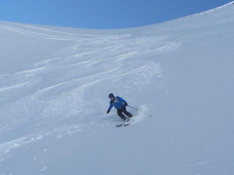 Ski hors piste rando à Tignes