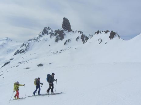 Ski de randonnée dans le Beaufortain, le tour de la Pierra Ment