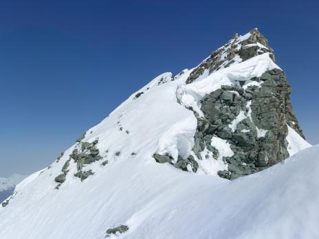 Plus très loin du sommet du Mont Pourri