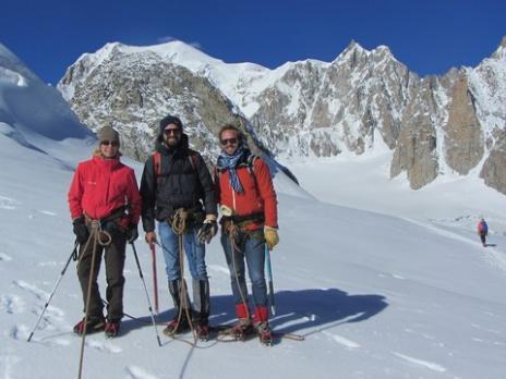 Vallée Blanche - le Mont Blanc - guides des Arcs