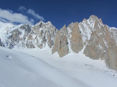 Vallée Blanche - guides des Arcs