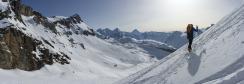 Montée assez tranquille en direction du sommet