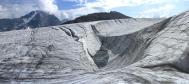 une des vagues glaciaires de Roche Ferran