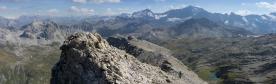 La suite en direction du Mont Blanc de Peisey