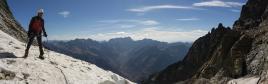 Le glacier, très facile, n'existera sans plus dans quelques années...